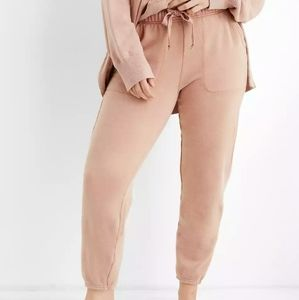 NWT Aerie Good Vibes Jogger in Raw Sienna